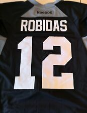 STEPHANE ROBIDAS GAME WORN PRACTICE jersey size 58