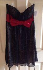 strapless leopard print Cocktail / Formal/ Prom Dress BNWT size S / size 8-10