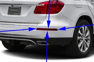 MERCEDES BENZ GL CLASS REAR BUMPER RIGHT REFLECTOR GL350 GL450 GL550 GENUINE NEW