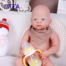 "21"" Soft Realistic Silicone Rebirth Baby Doll Costume Set Cute Boys Toys 5100g"