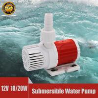 Submersible Water Pump Fish Aquarium Tank Waterfall Fountain Sump Feature New