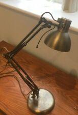 Lloytron Studio Poise mod L855 Anglepoise Lampe De Bureau Lumière Argent/Bronze DEL