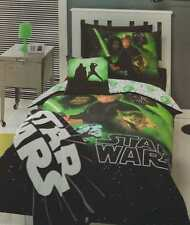 STAR WARS RETURN OF THE JEDI REVERSIBLE DOUBLE bed QUILT DOONA COVER SET NEW