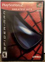 """Spider-Man"" Playstation 2 CIB 2003 PS2 Activision"