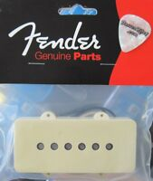 Genuine New Fender USA '62 Jazzmaster Guitar NECK Pickup with Aged White Cover