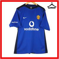 Manchester United Football Shirt Nike L Large Training Kit Soccer Jersey Q6