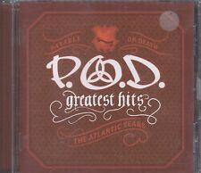 P.O.D. - Greatest Hits: The Atlantic Years promo cd