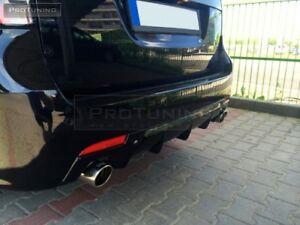Rear Bumper Valance Diffuser Spoiler Addon For Saab 9 3 2007 plus