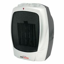 Lloytron F2201SV staywarm 1500w PTC riscaldatore di ceramica-Argento