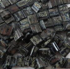 Miyuki TILA Japanise Seed Beads  2 HOLE FLAT SQUARE BEAD #1867-4555