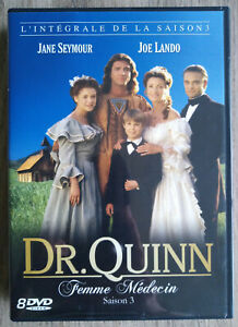 Coffret DVD Dr Quinn Femme Médecin Intégrale de la Saison 3