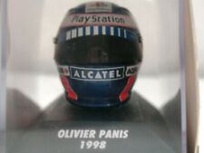 WOW EXTREMELY RARE Helmet Panis 1998 Bell PlayStation Silverstone 1:8 Minichamps