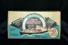 Rare Vintage Burgess Boat - Lite Kit Signal Light Red -Blue No. Bk-100