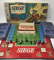 Siege Board Game Vintage 1966 Strategy Knights in Shiny Armor Milton Bradley MB