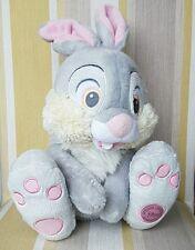 """Thumper Da Bambi 13"""" Rabbit Piede Peluche timbrato dalla Disney Store"""
