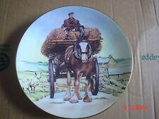 Coalport Collectors Plate THE CART HORSE From HEAVY HORSES