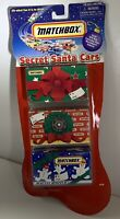 Matchbox Secret Santa Cars #92199-0910 Pack of 3 Blind Die Cast Cars 2000 Mattel