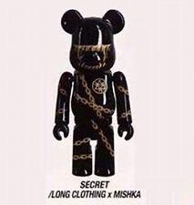 Bearbrick S32 Medicom be@rbrick 100% Secret 32 Chase Artist Mishka Long Clothing