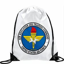 Large Drawstring Bag - US Air Education and Training Command (AETC)