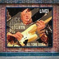 MICK ABRAHAM'S BLODWYN PIG - ALL TORE DOWN (New & Sealed) CD Reissue Live