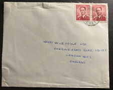 1956 Belgium Forces Military Post Office 1 In Soest Germany cover To England