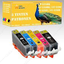 5x Tintepatronen kompatibel mit Canon Pixma 525-526 MG6150 / MG6250