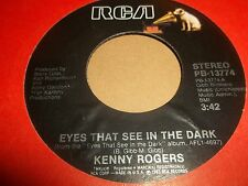 "KENNY ROGERS "" EYES THAT SEE IN THE DARK "" 7"" SINGLE 1983 EXCELLENT+"