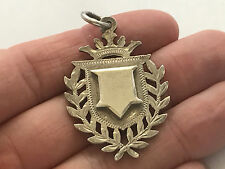 Sterling Silver Fob Medal, Victorian Chester 1898. Not engraved