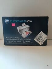 NEW HP Photosmart A536 Digital Photo Inkjet Printer