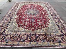 Old Hand Made Traditional Persian Rugs Oriental Wool Red Carpet 395x290cm