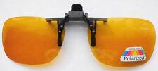 Sonnenbrillenvorhänger Sonnenbrille Brille CLIP-ON Polarisierend Gelb klappbar