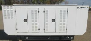 60 kw Olympian / Ford Natural Gas Generator / Genset - 386 Hours - Mfg. 2012