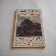 Vintage Post Book Where We Have Been Edinburgh What We Have Seen Ritchie & Sons