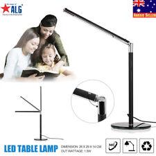 LED Table Desk Bedside Reading Light 360° Foldable Dimmable USB Eye Care Lamp