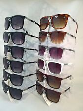 #Z1180 Square Unisex Sunglasses Wholesale 12 Pairs