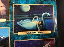 Vtg 2003 Swan Lake Puzzle Dreams 500 Pieces Sure-Lox Fantasy Animal Moon Fairy