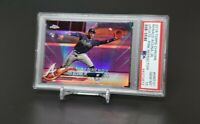 2018 Topps Chrome Update Ronald Acuna Jr. RC Rookie Pink Debut #HMT31 PSA 10