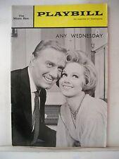 ANY WEDNESDAY Playbill BARBARA COOK / GEORGE GAYNES / ROSEMARY MURPHY NYC 1965