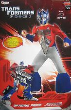 Transformers OPTIMUS PRIME Boy  Deluxe Halloween Costume sz 7-8  NEW
