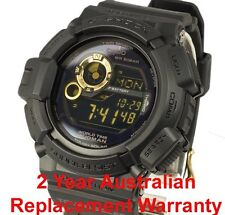 CASIO G-SHOCK MUDMAN WATCH G-9300 FREE EXPRESS G-9300GB-1 SOLAR 2 YEARS WARRANTY