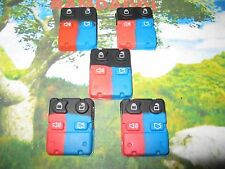 5 New Replacement 4 Button Remote Key Fob Transmitter Pad Focus Fusion Escort
