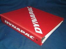 DYNAPAC CP-271 PNEAUMATIC TIRE ROLLER PARTS CATALOG BOOK MANUAL