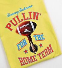TOMMY BAHAMA TEE SHIRT Pullin it for the home team.  LT Yellow
