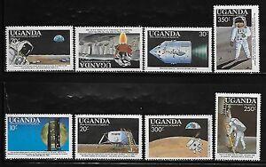 Uganda 693-700 Space Mint NH