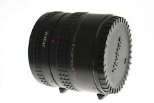 Vivitar Automatic extension tubes AT-22 20mm and 36mm. EXC+ condition. Nikon Ai