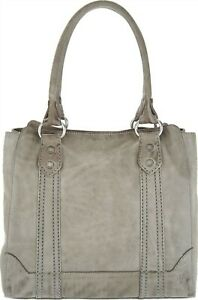 Frye Leather Melissa Tote Ice # A308871