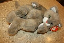 "Ty Classic 1995 Plush Large 13"" Cat S. Winey Tumbles Stuffed Beanie Classic"