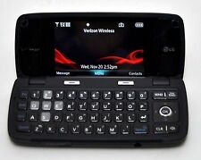 LG Voyager VX10000 Verizon Cell Phone BLACK flip touchscreen camera bluetooth c
