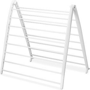 Whitmor Drying Rack, Collapsible, White