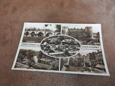 Real Photo postcard -Greetings from Shrewsbury multiview - Shropshire